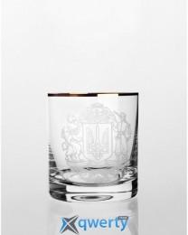 Barline набор стаканов для виски (герб золото)