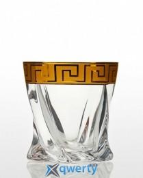 Quadro набор стаканов для виски (Kostka золото)