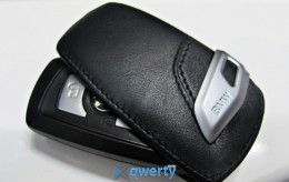Футляр для ключа BMW Key Holder Fob Leather Case Cover Black (82292219911)