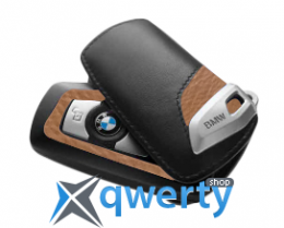 Футляр для ключа BMW Key Holder Fob Leather Case Cover Luxury Line Brown(82 29 2 219 917)