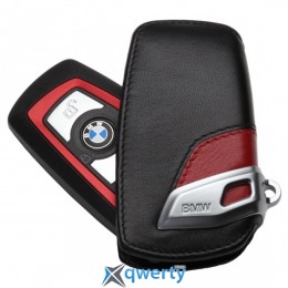 Футляр для ключа BMW Key Holder Fob Leather Case Cover Sport Line Red (82 29 2 219 909)