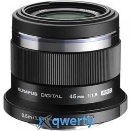 OLYMPUS ET-M4518 45mm 1:1.8 Black (V311030BE000) Официальная гарантия!
