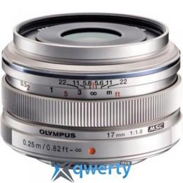 OLYMPUS EW-M1718 17mm 1:1.8 Silver (V311050SE000) Официальная гарантия!