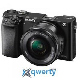 SONY Alpha 6000 kit 16-50mm Black Официальная гарантия!