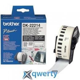 Brother QL-1060N/ QL-570 (12mm x 30.48M) (DK22214)