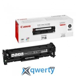 Canon 718 LBP-7200/ MF-8330/ 8350 black (2662B002)