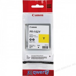 Canon PFI-102Y (yellow) iPF500/600/700 (0898B001)
