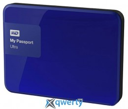 Western Digital My Passport Ultra 3TB 2.5 USB 3.0 External Noble Blue (WDBBKD0030BBL-EESN)