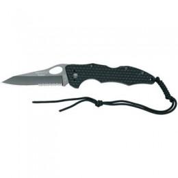 Нож Fox Pocketknife Handle Titanium Coating Blade 1/3 serrated (BF-105TiS)