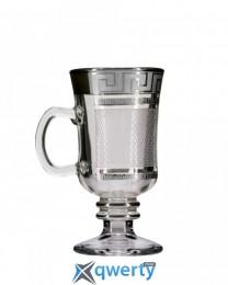Набор бокалов для глинтвейна Venezia (костка каро платина) купить в Одессе