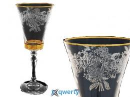 Набор бокалов для вина Alex золото