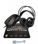 STEELSERIES E-sports Champions Bundle (66006)
