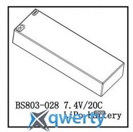 BSD Racing Li-Polimer battery 7.4V 3200 mAh 2S 20С купить в Одессе