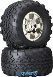 HPI Racing Комплект колес 2 шт в сборе 1:8 GT2 / S COMP/ CHROME (HEX17) купить в Одессе