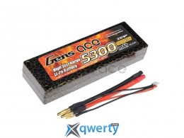 AE Gens Ace Li-Po battery 7.4V 5300 mAh 2S1P 65C T-Plug Hard Case купить в Одессе