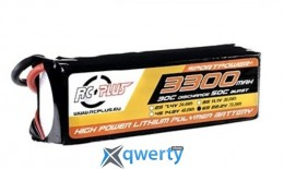 RC Plus SPORTSLINE Li-Po battery 22.2V 3300 mAh 6S1P 30C T-plug Soft Case купить в Одессе