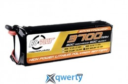RC Plus SPORTSLINE Li-Po battery 22.2V 3700 mAh 6S1P 30C T-plug Soft Case купить в Одессе
