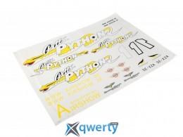 Sonic Modell Pitts Python Water Sticker купить в Одессе