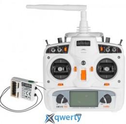 Walkera DEVO-10 / RX1002 Комплект аппаратуры для мультикоптеров, вертолетов и самолетов (белый) купить в Одессе