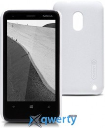 NILLKIN Nokia Lumia 620 - Super Frosted Shield (Белый) купить в Одессе