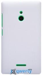 NILLKIN Nokia XL - Super Frosted Shield (Белый) купить в Одессе