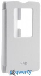 VOIA LG Optimus L80 Dual (D380) - Flip Case (белый) купить в Одессе