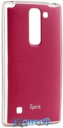 VOIA LG Optimus Spirit - Jell Skin (красный) купить в Одессе