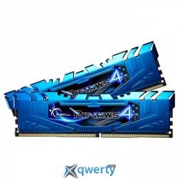 G.Skill 16 GB (2x8GB) DDR4 3000 MHz Ripjaws 4 Blue (F4-3000C15D-16GRBB)