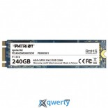 НАКОПИТЕЛЬ SSD M.2 2280 240GB PATRIOT (PI240GSM280SSDR)