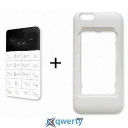 ELARI CardPhone Case for iPhone 6 White (LR-CS6-WHT)