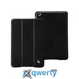 JISONCASE Executive Smart Case for iPad mini 1/2/3 Black (JS-IDM-01H10)