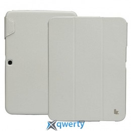 JISONCASE Premium Leatherette Smart Case for Samsung Galaxy Tab 3 7 White (JS-S21-03H00)