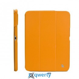JISONCASE Premium Leatherette Smart Case for Samsung Galaxy Tab 3 8 Yellow (JS-S31-03H80)