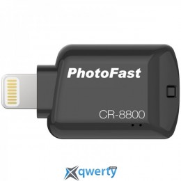 PHOTOFAST iOS Card Reader CR8800 Black (CR8800BK)
