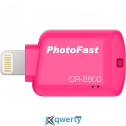PHOTOFAST iOS Card Reader CR8800 Red (CR8800R)