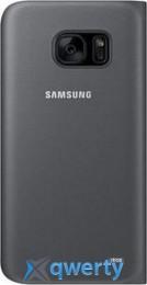 SAMSUNG S7 edge/G935 - Flip Wallet черный