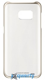 SAMSUNG S7/G930 - Clear Cover золотистый