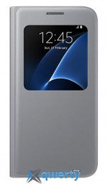 SAMSUNG S7/G930 - LED View Cover серебристый