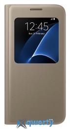 SAMSUNG S7/G930 - LED View Cover Золотистый
