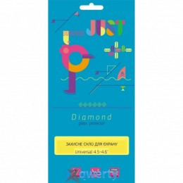 JUST Diamond Glass Protector 0.3mm Universal 4.5-4.6 (JST-DMD03-UN4546)