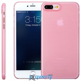 MOMAX Membrane hard case for Apple iPhone 7 Plus (0.3mm Super slim) Pink (MPAPIP7LP)