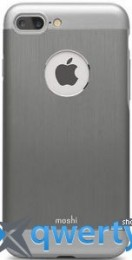 Moshi iGlaze Armour Metallic Case Gun Metal Gray for iPhone 7 Plus (99MO090021)