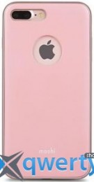 Moshi iGlaze Slim Lightweight Snap-On Case Blush Pink for iPhone 7 Plus (99MO090301)