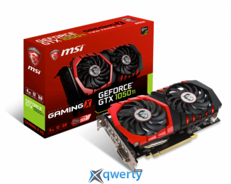 MSI GeForce GTX 1050 TI GAMING X 4GB GDDR5