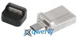 Transcend 64GB USB 3.0 JetFlash 880 OTG Metal Silver (TS64GJF880S)