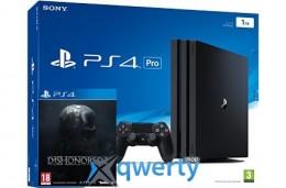 Sony Playstation 4 PRO 1TB + игра Dishonored 2 (PS4) купить в Одессе