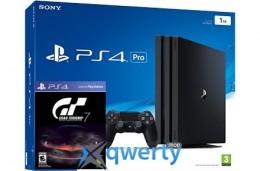 Sony Playstation 4 PRO 1TB + игра Gran Turismo 7