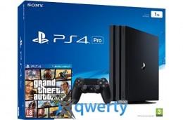Sony Playstation 4 PRO 1TB + игра GTA V (PS4)
