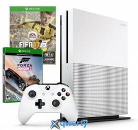 Microsoft Xbox One S 500GB + Fifa 17 + Forza Horizon 3 + Live 6m + Ea Access 1m