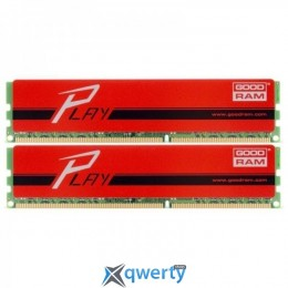 DDR4 2x8GB/2400 GOODRAM Play Red (GYR2400D464L15S/16GDC)